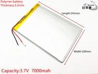 1pcs Lot Liter Energy Battery 3 7V 7000mAH 32100141 Polymer Lithium Ion Battery Li Ion Battery