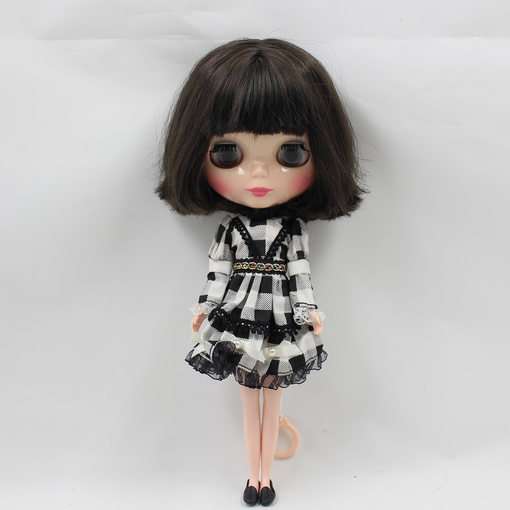 ICY Factory Blyth Nude Doll Series No BL950 Black short hair Flesh color skin Neo
