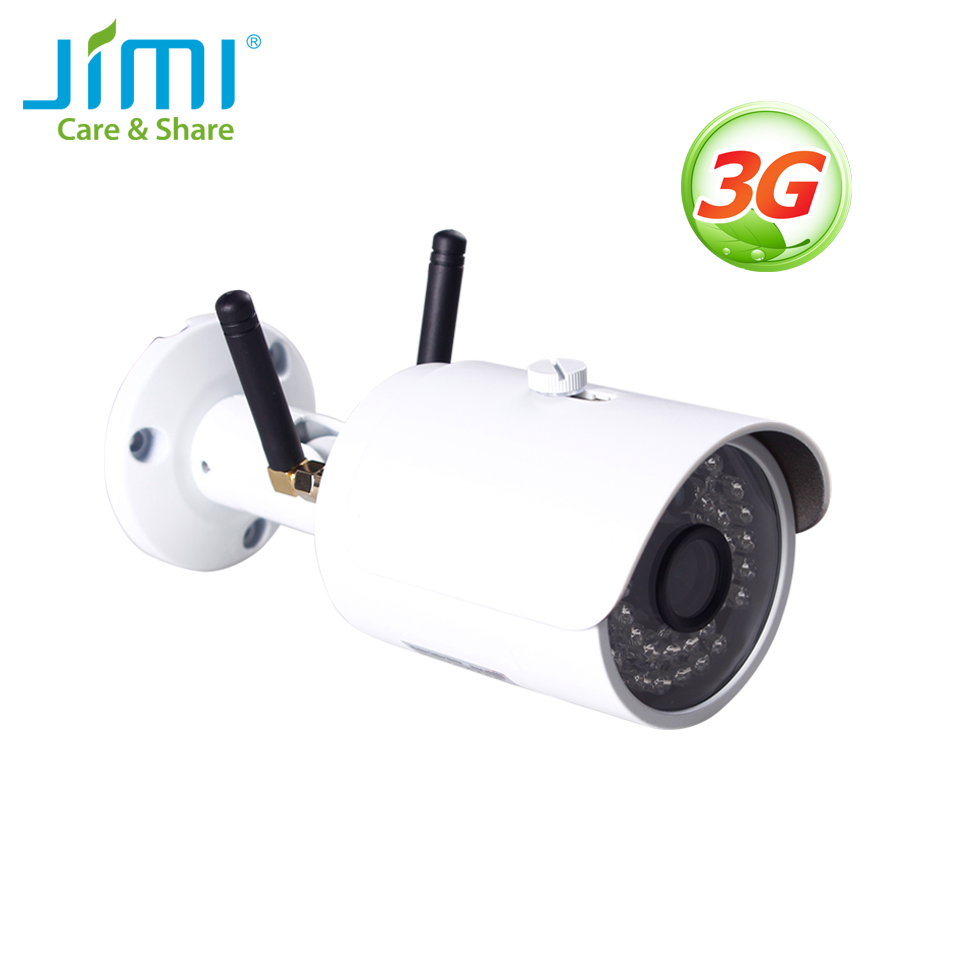 Jimi JH012 Outdoor 3G Network Bullet Security Camera Network Surveillance Night Vision CCTV Camera IP66 Waterproof