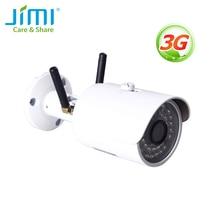 Jimi JH012 กลางแจ้งกล้องเครือข่ายไร้สาย 3G และ Wi Fi กล้องวงจรปิด IP65 กันน้ำฟรี 30 วัน Cloud Save security กล้อง