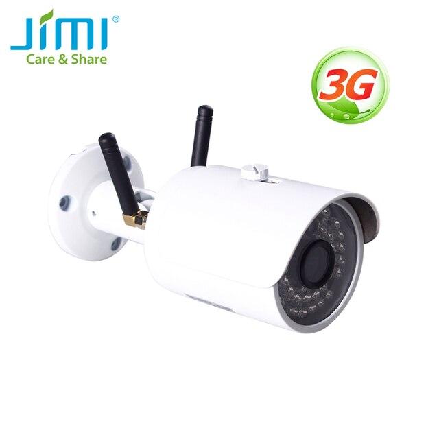 Jimi JH012 Outdoor Kamera Mit 3G Drahtlose Netzwerk und Wi fi CCTV Kamera IP65 Wasserdichte 30 Tage Freies Cloud Sparen sicherheit Kamera