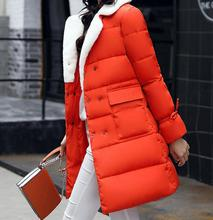 Women's cotton coat wild slim jacket fashion new women winter outerwear 2019 keep warm cotton clothing Buckle plus size
