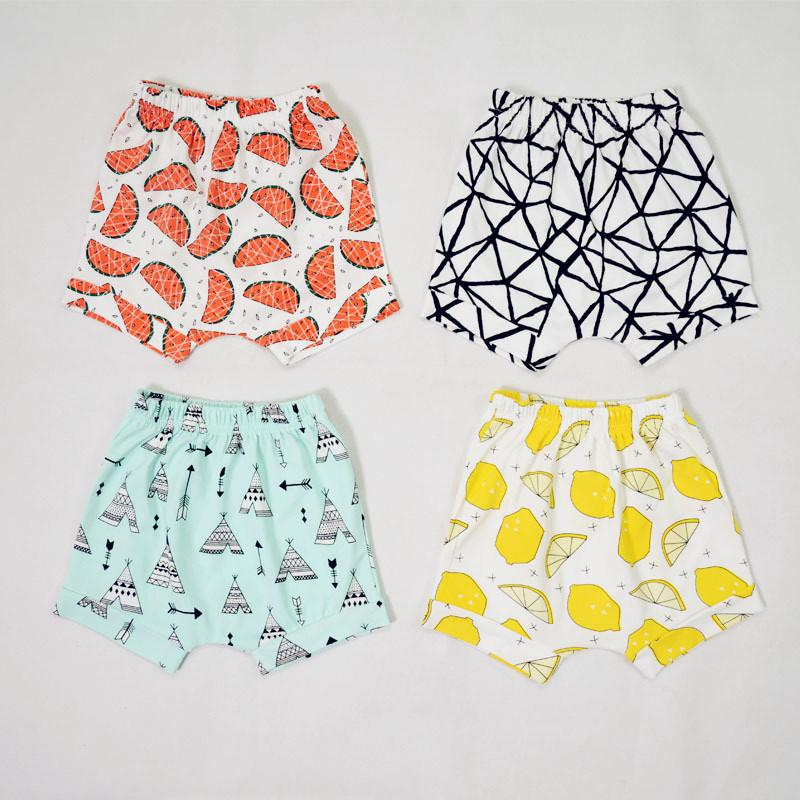 Brand Cotton Baby Kids Shorts 2019 Children Summer Harem Short Pants For Boys Girls Toddler Casual Clothing 6 Months - 4 Years