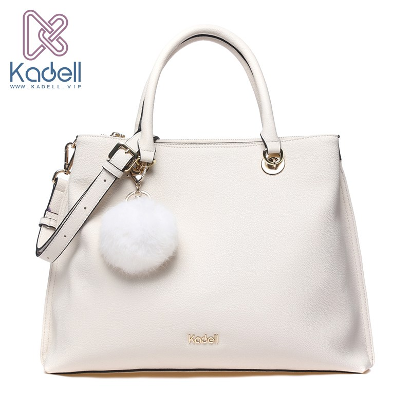 Kadell New Arrival Soft Leather Large Capacity Casual Women Bags Handbags Women Famous Brands Fashion Shoulder Bag Fur Bag kadell unisex handbags for men large capacity portable shoulder bags travel bags package soft pu leather retro bags women