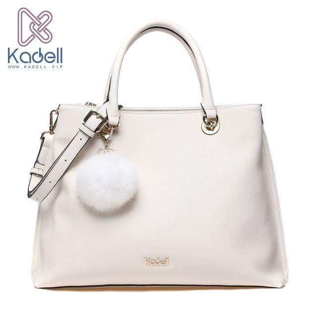 Kadell новинка из мягкой кожи большой Ёмкость Повседневное Для женщин Сумки Для женщин известных брендов модные сумка Мех сумка