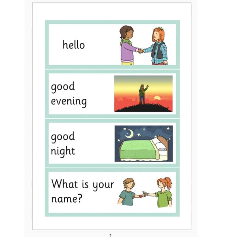 16 Frases Aprender Inglés Flashcards Frase De Saludo Común Frase Corta Juguetes Educativos Para Niños Afiches A4 Juegos Para Niños
