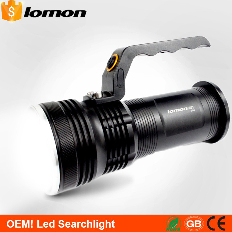 LED Searchlight High Power Outdoor Emergency Marine LED Flashlight 18650 Rechargeable Torch Long Range High Power Work Light Hot high power led searchlight lantern built in battery handheld portable flashlight torch rechargeable waterproof hunting lamps