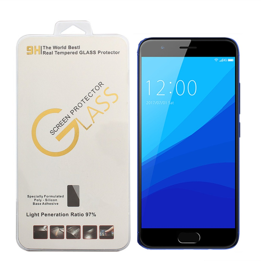 High quality New 0.3mm 9H For UMIDIGI C2 Tempered Glass Screen Protector Premium Front Clear Protective Film Cover