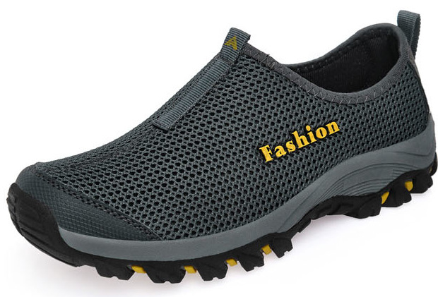 2018 New Men Casual Shoes, Summer Mesh For Men,Super Light Flats Shoes, Foot Wrapping Big Size
