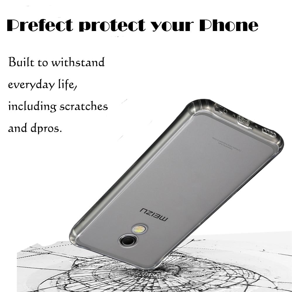 For Meizu MX5 / MX 6 / MX5e Silicone Soft TPU Ultra thin phone Case - Բջջային հեռախոսի պարագաներ և պահեստամասեր - Լուսանկար 2