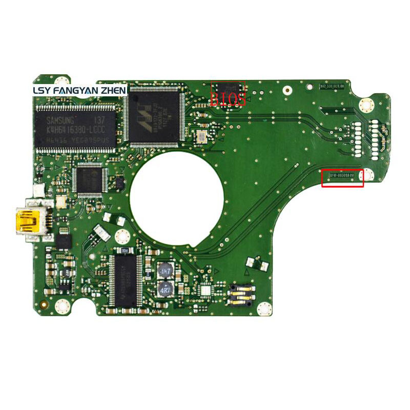 PCB BF41-00309A MT2_339_REV.01 for HDD PCB Logic Board 46 wvga logic dif component pcb v02 4359301402 a used disassemble