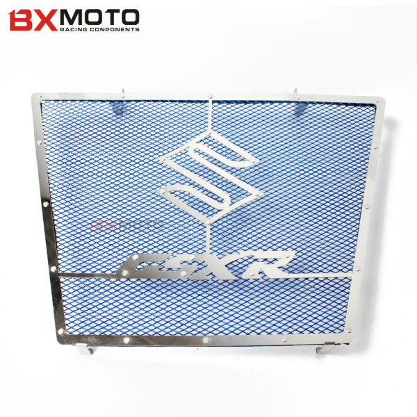 Motorcycle CNC Aluminum Radiator Grille Guard Cover Protector For Suzuki GSXR 600 750 2006-2012 motorcycle radiator protective cover grill guard grille protector for suzuki gsxr 600 750 2006 2007 2008 2009 2010 2011 2016