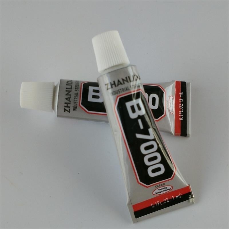 200Pcs Lot 3ML B7000 Glue For Cell Phone Adhesive Epoxy Resin Diy Crystals Rhinestones Wholesale Free
