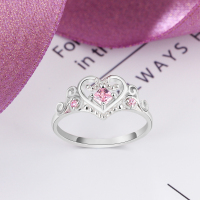 Heart Crown Ring 2