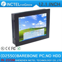 12 Inch PC All In One PC TouchScreen Computer Five Wire Gtouch Using High Temperature Ultra