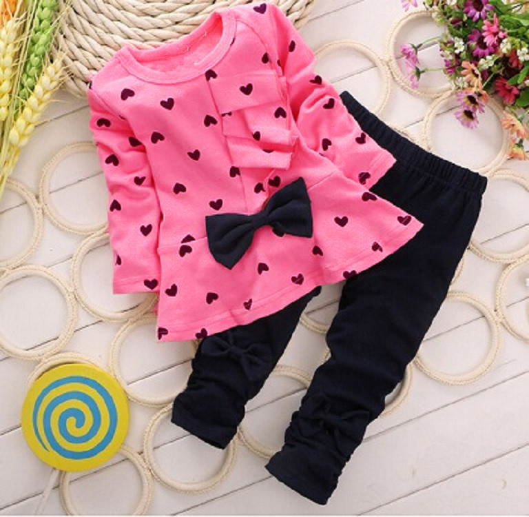 New Girls Clothes 2019 Kids Clothes Sets Long Sleeve Toddler Girl Costume Children Cloth ...