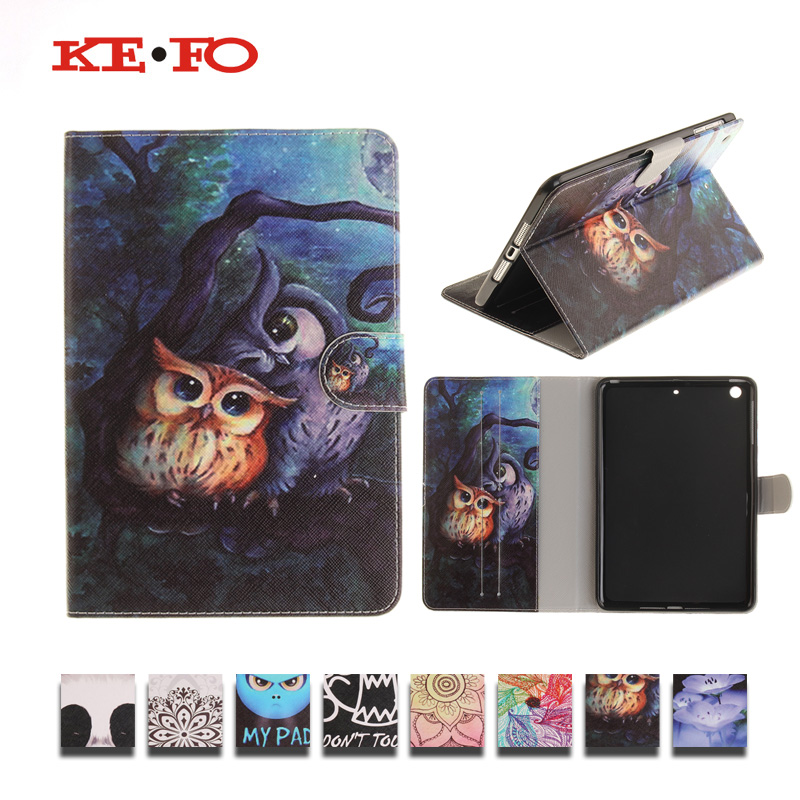 For iPad Air A1474 A1475 A1476, PU Leather Case Cover For iPad