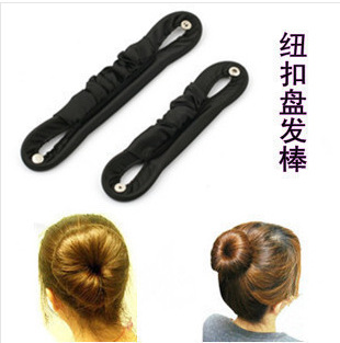 women hair accessory easy quick hair style tools hairdressing bob updo hairdo with botton lock