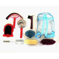New 9 In 1 Horse Cleanning Tool With Horse Grooming Kit Equestrian Equipment Cleaning Set Saddleries