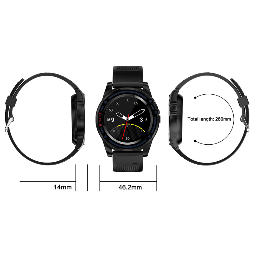 Smartwatch Support SIM Card Camera Pedometer Bluetooth Smart Watch Push Message Fitness Tracker for IOS Android Phone in Smart Watches from Consumer Electronics