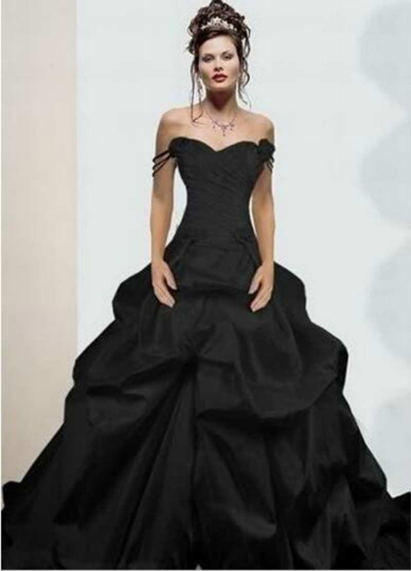 Online Buy Wholesale Black Wedding Dresses Sale From China