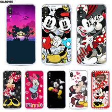 Minne Mickey Case For Samsung Galaxy A2 Core Silicon Coque For Samsung A50 A30 A40 A20 A10 M30 M20 M10 A750 S3 S5 Marble Cover(China)