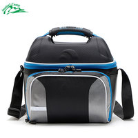 Jeebel 14L Shoulder Strap Lunch Bag Portable Picnic Lunch Box Insulation Camping Equipment Container Refrigerator Cooler Bags