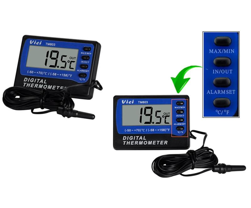 Kühlschrank Alarm : Vici tm thermometer kühlschrank mit gefrierfach thermometer