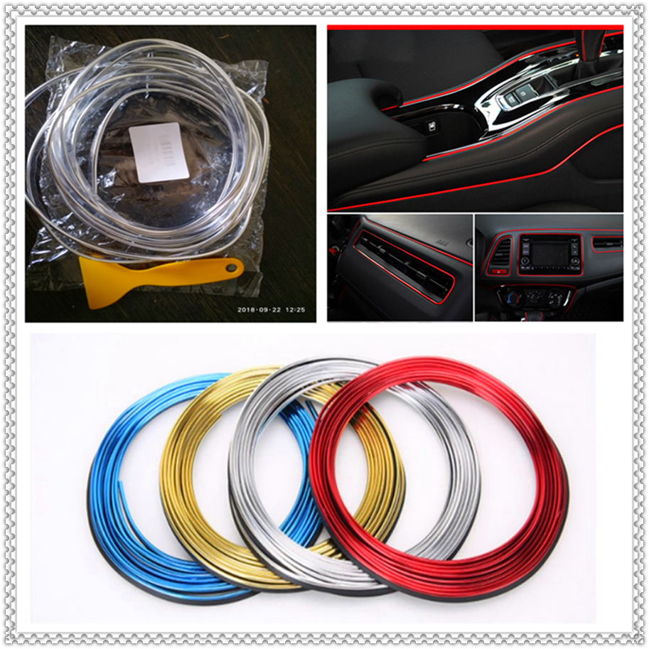 Car interior Decoration thread Outlet sticker Insert Air Strip <font><b>Accessories</b></font> for <font><b>Infiniti</b></font> QX QX60 <font><b>Q30</b></font> Q70L Q70 Synaptiq Q80 image