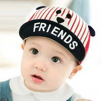 Baby Boy Hat Cute Cartoon Animals Baby Baseball Cap Baby Beanie Summer Baby Sun Hats Visors