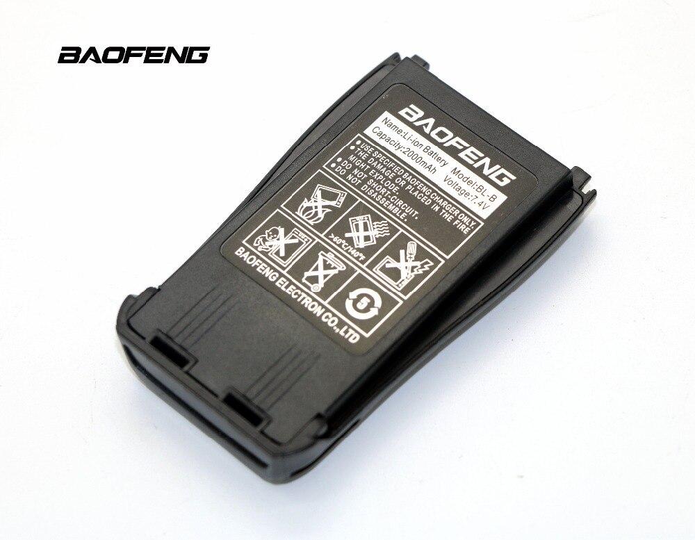 Baofeng BL-B Portable Radio Batterie 7.4 V 2000 mAh Li-ion 2 way radio batterie de rechange pour Baofeng UV-B5 UV-B6 Talkie walkie