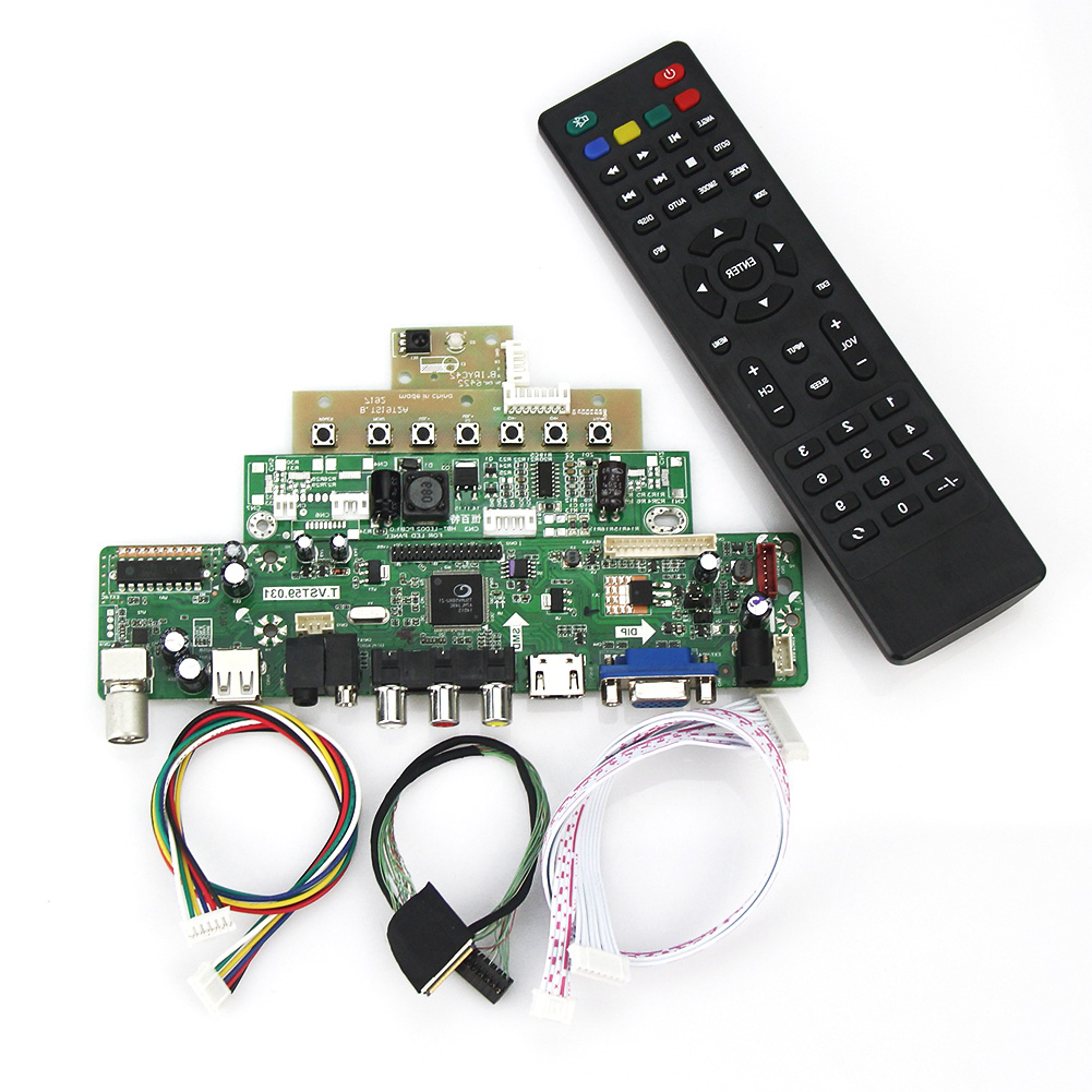 T Für N154c6-l02 Lp154wp 1440x900 Lvds Wiederverwendung Laptop Vst59.03 Lcd/led Controller Driver Board tv + Hdmi + Vga + Cvbs + Usb