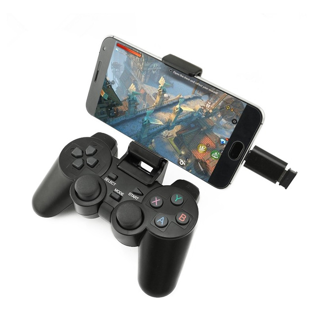 Wireless Gamepad For PC For PS3 Android Phone TV Box Joystick 2.4G Joypad Remote For Xiaomi Micro USB/Type C OTG Smart Phone image