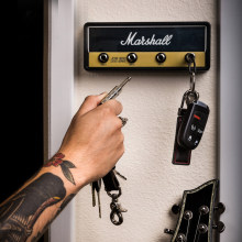 Marshall Key Holder Rock Electric Guitar speaker key hanging Key hook Storage Keychain Vintage JCM800 1959SLP BULLET GP69(China)