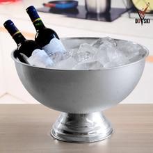 2016 Doski Eiskübel Schüssel Form Champagner Eimer Große Whisky Bier Wein Cooler Drink Chiller Eiswürfel Container Flaschen Halter