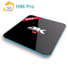 H96 Pro: 2.4G/5GHz Wifi 4K Amlogic S912 Octa Core 2/3G DDR3 option 16 Flash Android 7.1 BT4.0 KODI Android tv box HD2.0