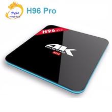H96 Pro: 2.4G/5 GHz Wifi 4 K Amlogic S912 Octa Rdzeń 2/3G DDR3 opcja 16 Flash Android 6.0 KODI BT4.0 Android tv box HD2.0