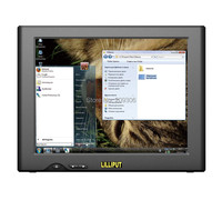 LILLIPUT UM 82 C T 8 Inch TFT LED 4 Wire Resistive USB Touch Monitor With