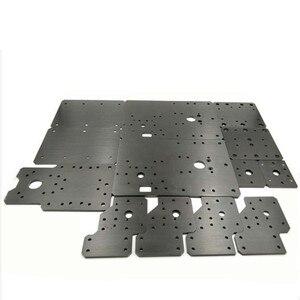 Image 1 - Funssor Workbee CNC aluminium Platte Sets CLead Schraube Angetrieben) für Workbee CNC router teile