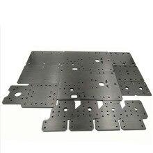Funssor jeu de plaques en aluminium pour Workbee CNC, pièces de routeur CNC
