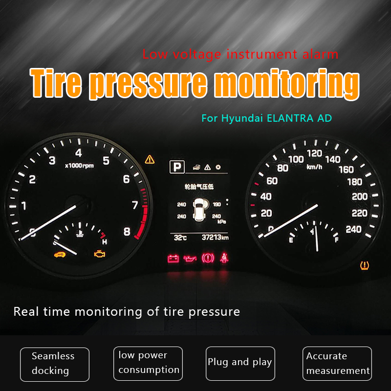 For Hyundai ELANTRA AD OBD detector for monitoring the built in tire pressure in the original plant  TPMS|Tire Pressure Monitor Systems| |  - title=