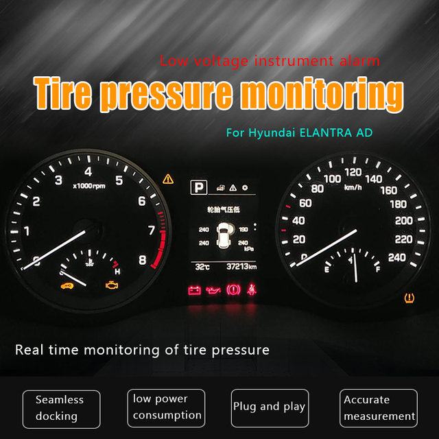 High Quality For Hyundai ELANTRA AD OBD Detector For Monitoring The Built In Tire  Pressure In The