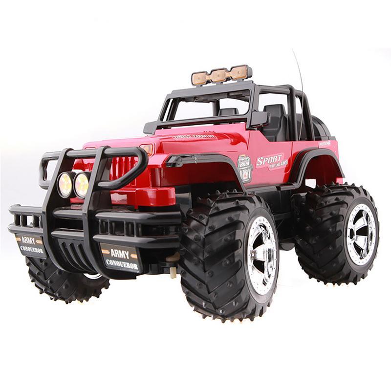 1/14 Jeep Auto Off Road Rc Speelgoed Draadloze Afstandsbediening Hoge Snelheid Drift Racing Auto Grote Uitverkoop