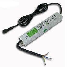 12 V 20 W 50 W утопленные лампы светодиодный драйвер адаптер трансформаторный блок Питание IP67 Водонепроницаемый CE по ограничению на использование опасных материалов в производстве US/UK/EU/AU стандарт