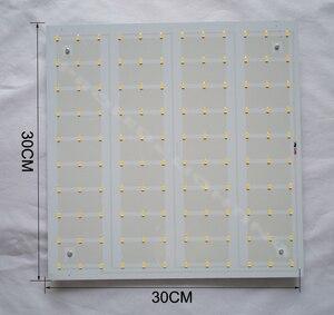 Image 3 - Produttore FAI DA TE 5730SMD 40 W superficie montata HA CONDOTTO LA luce di soffitto LED luminares techo30 * 30 cm bianco freddo bianco caldo 2 ANNO di GARANZIA.