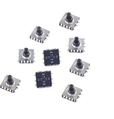 Ersatzteile & Zubehör 5 Stücke 5 Richtung Weg Taktschalter Smd 6 Pin 10*10*9mm Für Navigation Taste Hohe Sicherheit