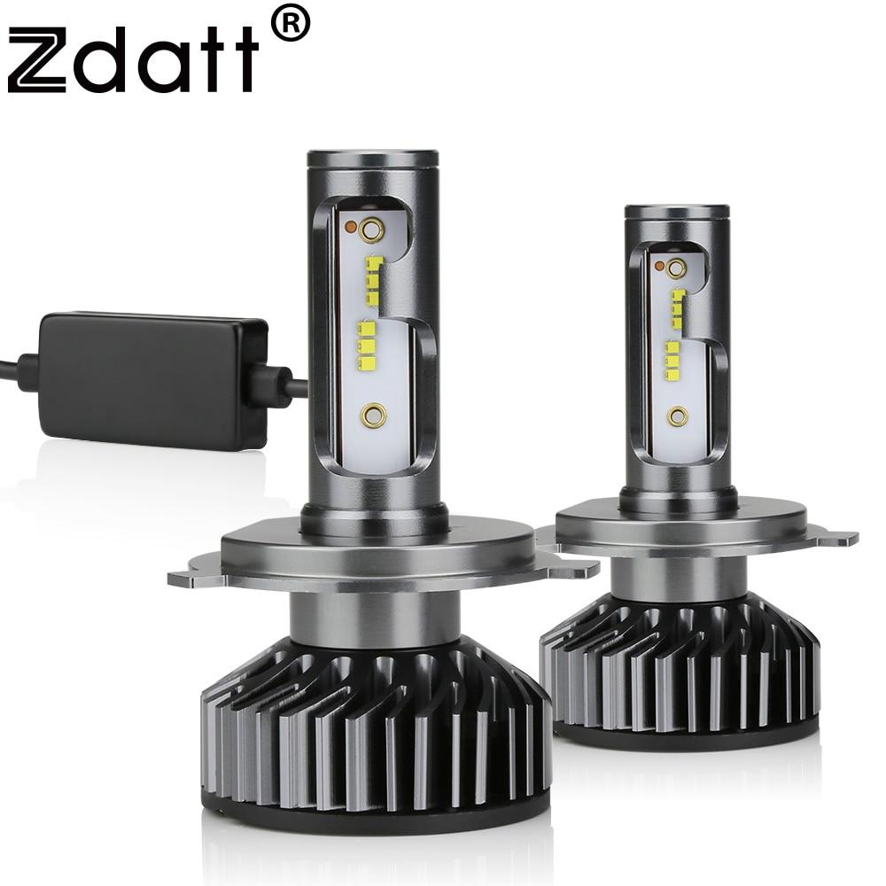 Zdatt H7 LED H4 LED H11 Auto Licht Canbus Scheinwerfer Birne 100 00LM H8 H1 HB3 9005 9006 880 H27 h9 100 W 6000 karat 12 v 24 v Auto HB4 Led