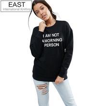 Lengan Putih knitting Pullover