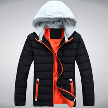 2016 new fall and winter clothes adolescent men thick winter coat Korean men padded down jacket tide A025