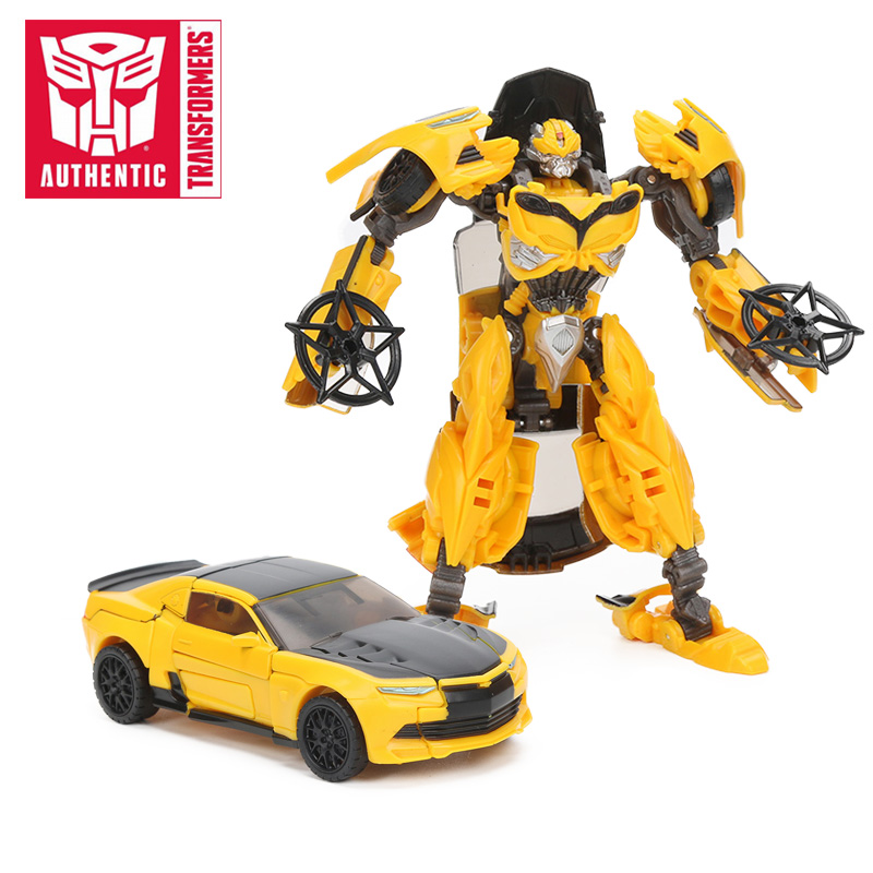 Transformers Toys The Last Knight Premier Edition Bumblebee Barricade Dinobot Slash Berserker Action Figures Collection Model transformers маска bumblebee